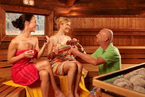 Das Geibeltbad Pirna bietet eine umfangreiche Saunalandschaft inklusive einer Damensauna.