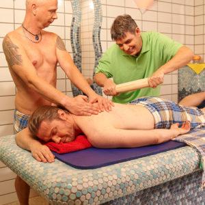 Wohltuende Masssagen hat das Geibeltbad Pirna auch im Angebot - ganz nach Ihren persönlichen Bedürfnissen.