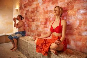 Empfehlenswert ist die Salzgrotte im Geibeltbad Pirna für Menschen mit Asthma, Bronchitis und empfindlichen Atemwegen.