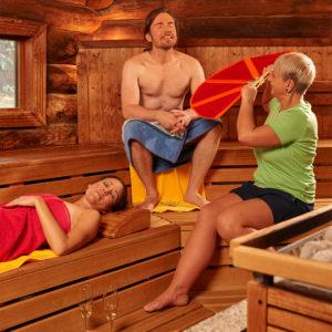 Das Geibeltbad Pirna bietet eine umfangreiche Saunalandschaft.